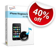 40% off for Xilisoft iPhone Ringtone Maker