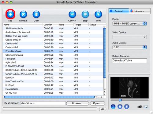 Xilisoft Apple TV Video Converter for Mac