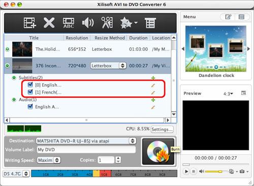 How to convert AVI to DVD Mac