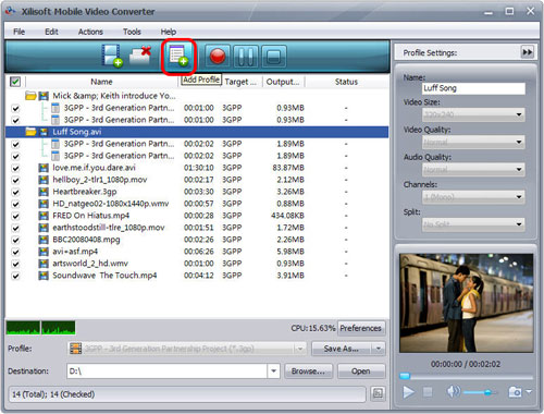 Xilisoft Mobile Video Converter