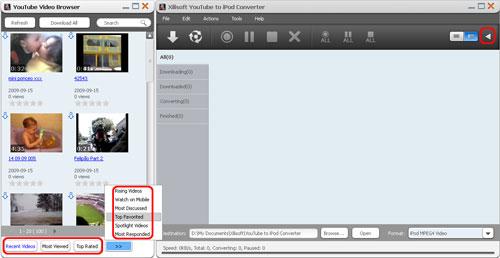 Xilisoft YouTube to iPod Converter