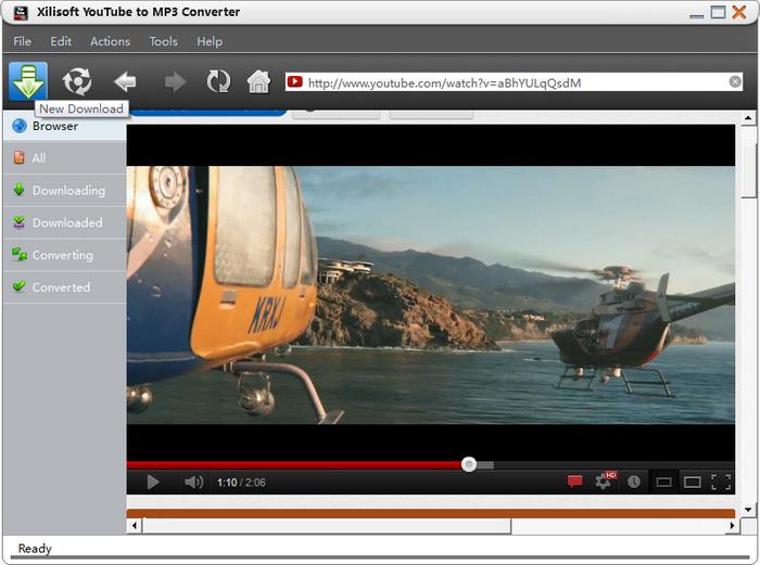 Xilisoft YouTube to MP3 Converter Screenshot