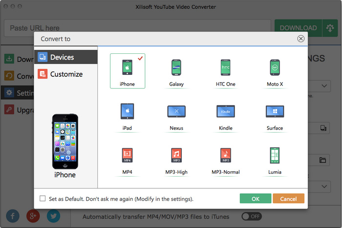 Xilisoft YouTube Video Converter for Mac